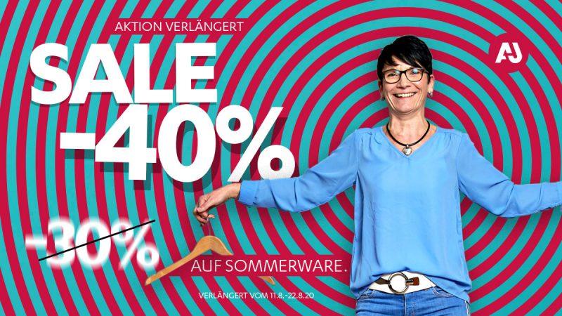 Aktion verlängert! – Super Sommer SALE bis 22.08. bei Apache Jeans