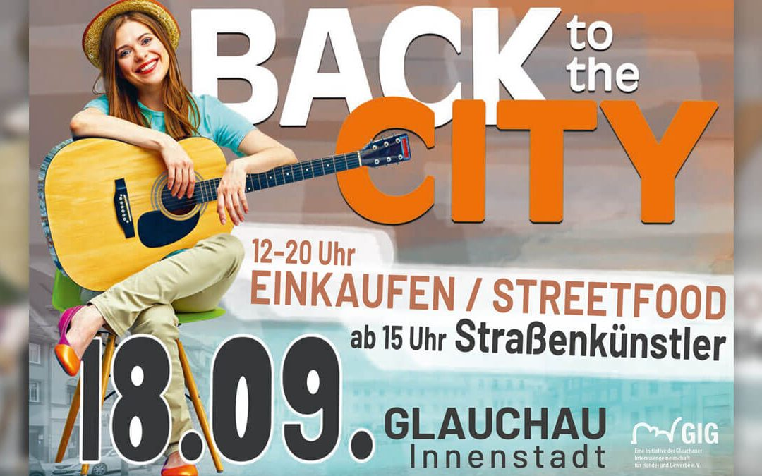 Back to the City am 18.09. in der Glauchauer Innenstadt