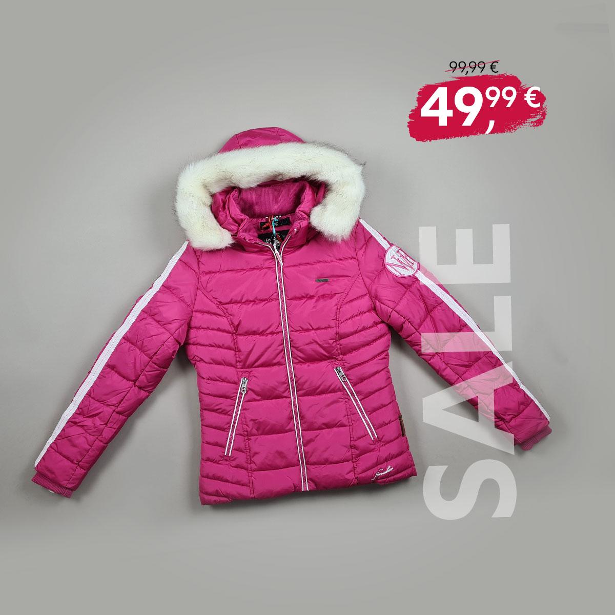 SALE: Navahoo Winterjacke pink