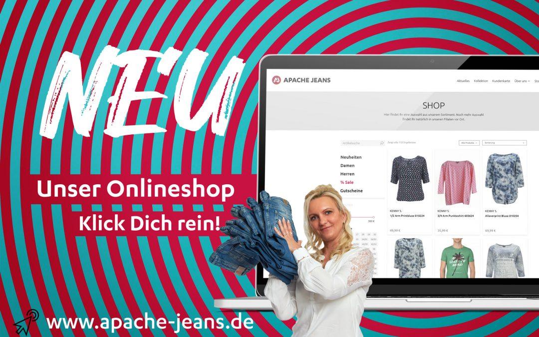 APACHE Onlineshop Eröffnet