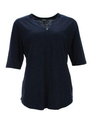 Shirt mit Leiste 603594
