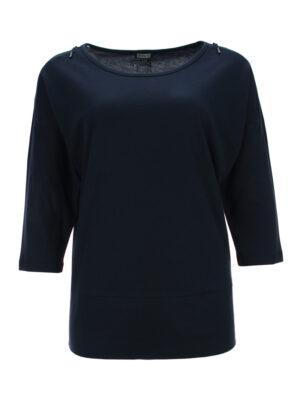 Shirt mit Zip-Dekor 668874