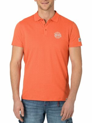 Peached Jersey Polo