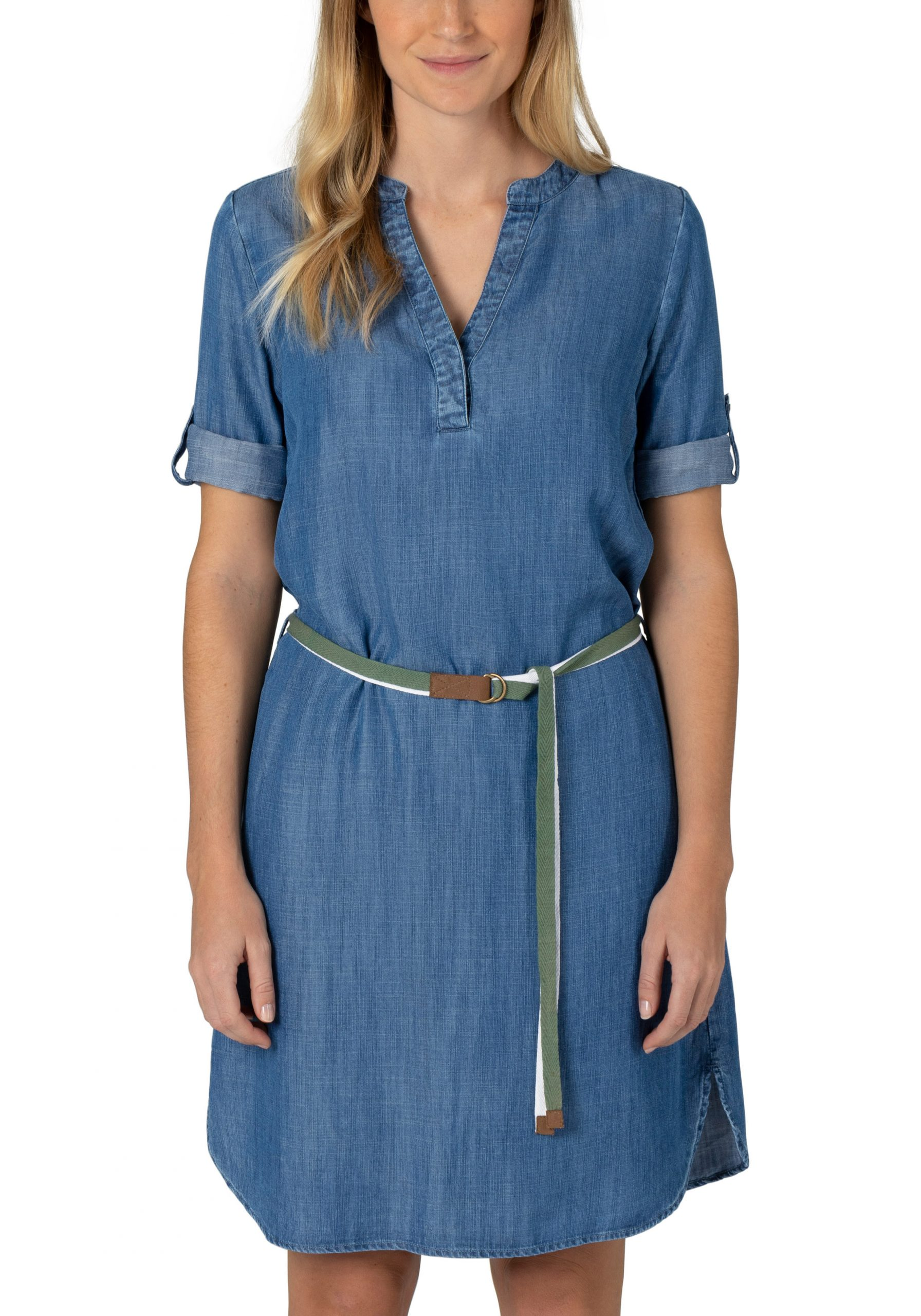 Tencel Denim Dress wave blue
