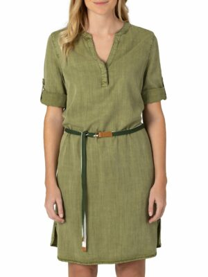 Tencel Dress light olive
