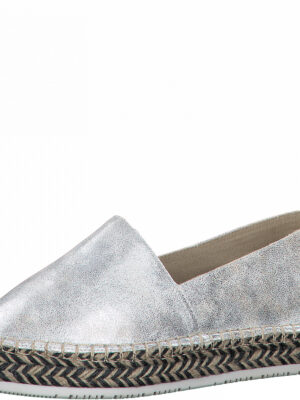 Slipper mit Metallic-Effekt