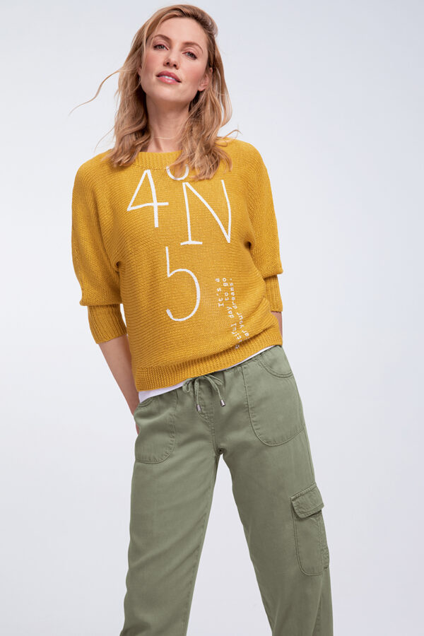 3/4-Arm Pullover