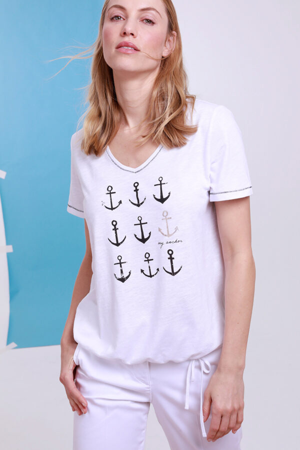 Ankermotiv T-Shirt