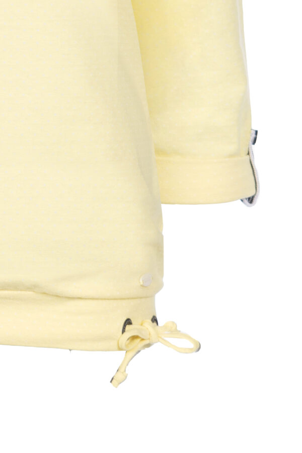 3/4-Arm Shirt mit V-Ausschnitt
