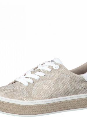Sneaker mit Kontrast-Sohle