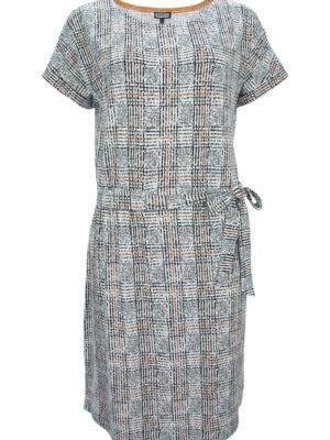 Karoprint Kleid