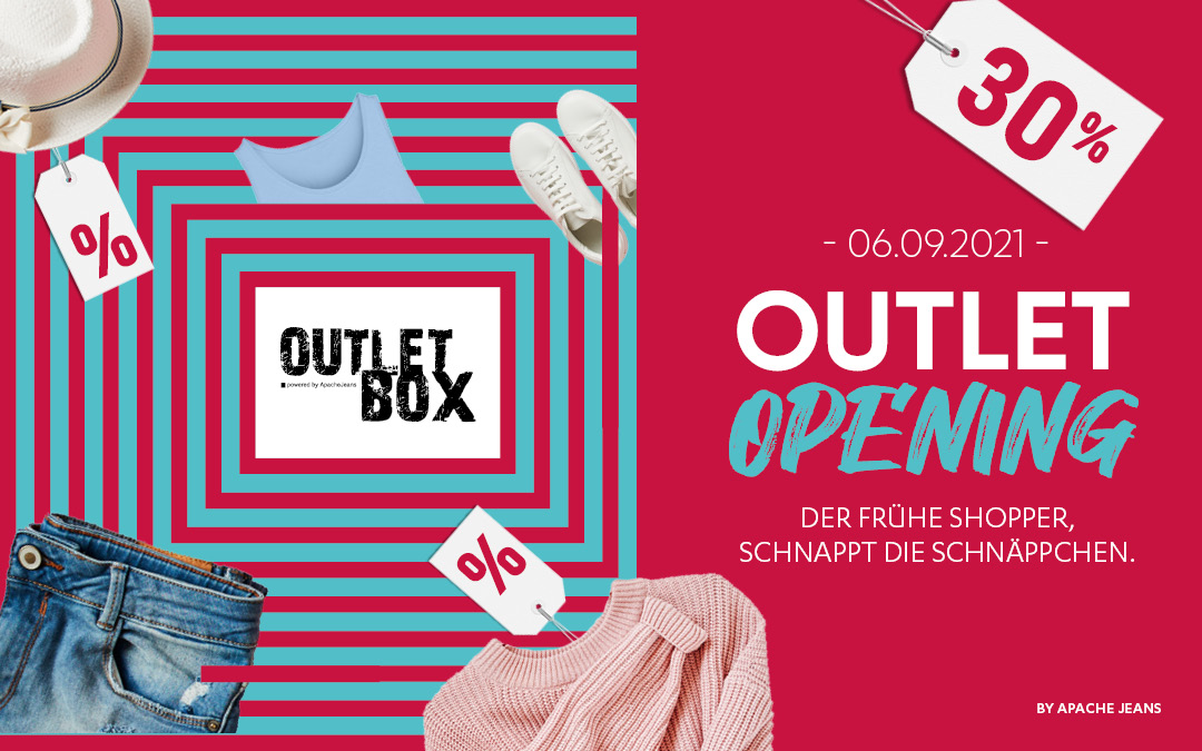 Am 06.09.21 Outlet Opening